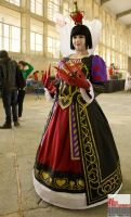 Queen of hearts Alice: Madness Returns by MsLizzieLiddell