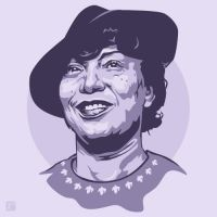 Zora Neale Hurston by monsteroftheid