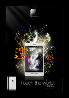 Phone New Concept. Advertising by Youness-toulouse