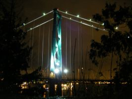 Lions Gate At Night by HobbitPunk