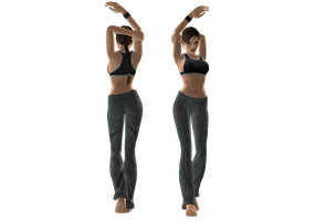 TR 1 Gym Outfit by sk8terwawa