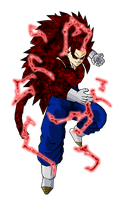 Vegetto SSJ 13 V6 by ansemporo002