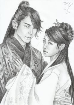 Moon Lovers: Wang So and Hae So by Michael1525