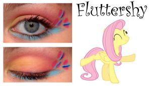 Makeup is Magic: Fluttershy by nazzara