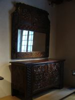 Miroir et commode by fairling-stock