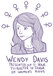 Wendy Davis by FortyFourArrows