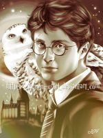 Harry and Hedwig by Queen-Uriel