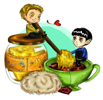 Honey And Tea_ Star Trek! by Haramihat