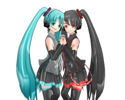 Hatsune and Zatsune Ecchi by Nemesisbg23