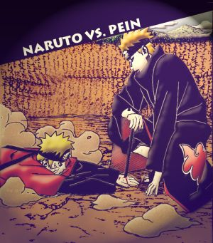 Naruto_vs__Pein_by_Samantajj