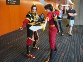 Zuko and Azula - Otaku 2010 by Ryukai-MJ