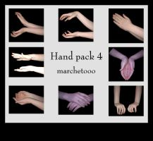 Hand pack 4 by marchetooo