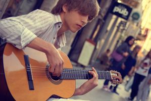 Guitarist by abus