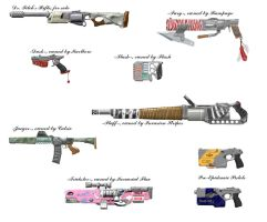 Custom Firearms of Dark Ages by Ergrassa