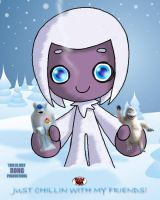 RONGS 1234's  YETI GIRL by DeadDog2007