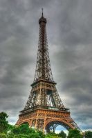 Paris, Eiffel Tower by bianco-c