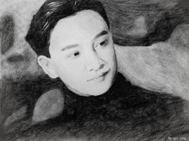 Leslie Cheung by r2born