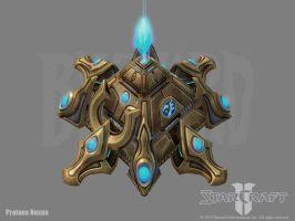 SC2: Protoss Nexus by PhillGonzo
