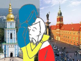 Warsaw and Kiev by ChevonneFromEurope