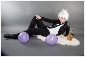 KHR :: Byakuran Gesso by Black--Deamon
