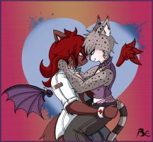 Be my little angel:Talon and Aednet by Bc4life
