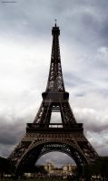 Eiffel Tower II by Be3a