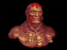 Dhalsim by schults