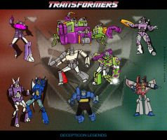 Decepticon Legends - colour by hellbat
