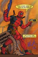 Deadpool for Jonathon by bauldur-rises