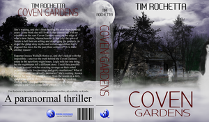 Coven Gardens book cover by Digon Designs by DigonDesigns