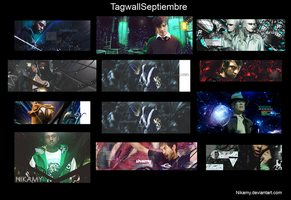 tagwall septiembre by Nikamy
