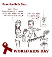 World AIDS Day by jusbrublis