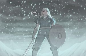 Shield-Sister by Ross-A-Campbell
