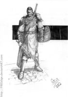 Beric Dondarrion - Character Drawings 028 by FREEdige