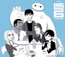 Big Hero 6 _5 Years Later by Milady666