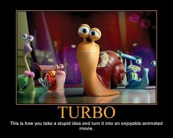 Turbo motivational poster by Michaelsar