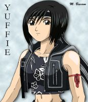 Yuffie by crosscutter