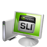 SLi Computer Icon by Tjingsted