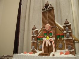 Gingerbread Temple of Time by ChozoBoy