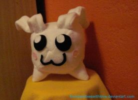 Tokomon Digi-plush by fromzombieswithlove