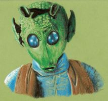 Greedo by ricketychives