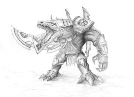 Runewars Renekton by direday