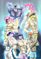 Iron Will and Manly 6 by baitoubaozou
