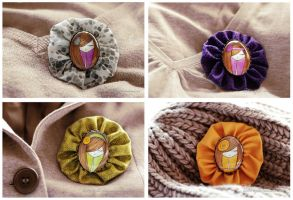 Brooches III by nabey