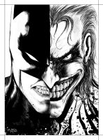 BATMAN  X JOKER by Angel-Akino