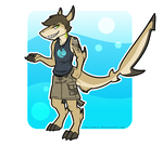 Jay the Blacktip Reef Shark by Robo-Shark