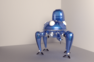 Tachikoma 1 by motoko-chroma