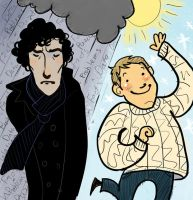 Brood+Sparkle equals Sherlock by aberry89