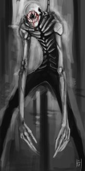 Slenderman by xluxifer