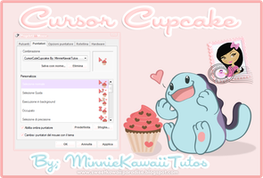 Cursor Cupcake by MinnieKawaiiTutos